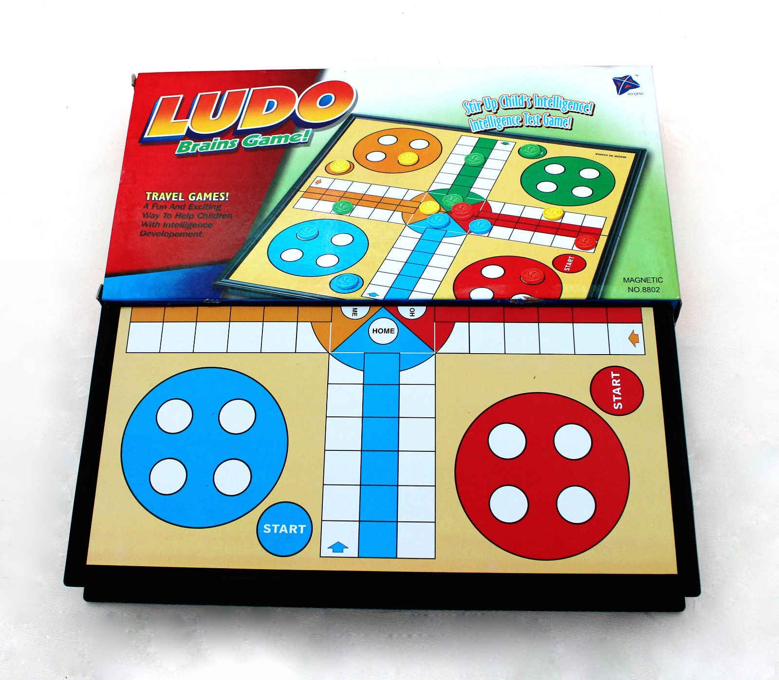Juguetes Y Juegos Juego De Mesa Parchis Ludo De Viaje Portatil De